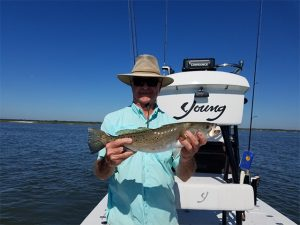 A great backwater fishing Fernandina Beach and Amelia Island. The jetties produced some outstanding catches of redfish up to 30 inches. The speckled trout also got in on the action. The trout averaged 17 inches.