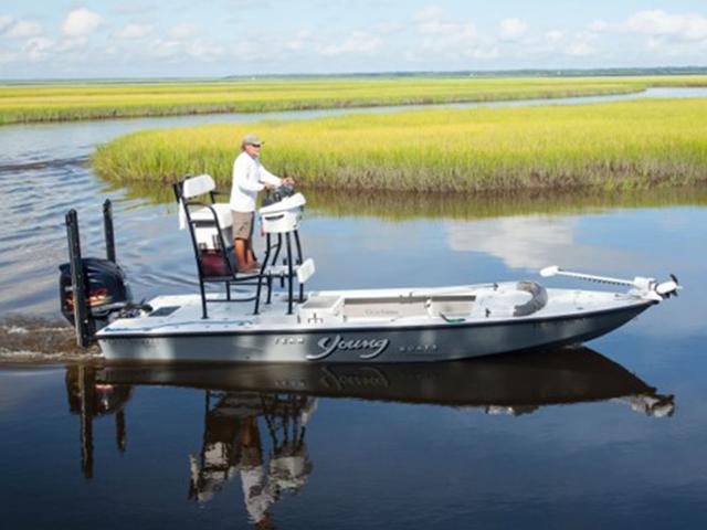 Charter Fishing Amelia Island Inshore Boat