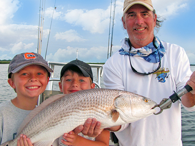 Inshore Charter Fishing Amelia Island with Captain Brian Soucy