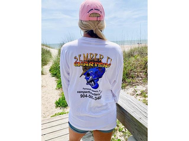 Semper Fi Charters Sport Tek Tee Shirt