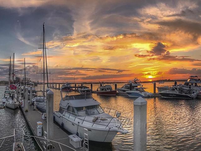 Fernandina Beach Sunset Florida